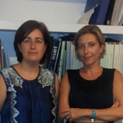 Eva Luna Macías y Debora Serrano García