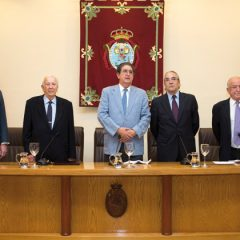 Reconocimiento póstumo a don Alfonso de Cossío